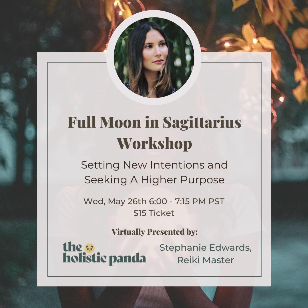 Full Moon in Sagittarius Workshop